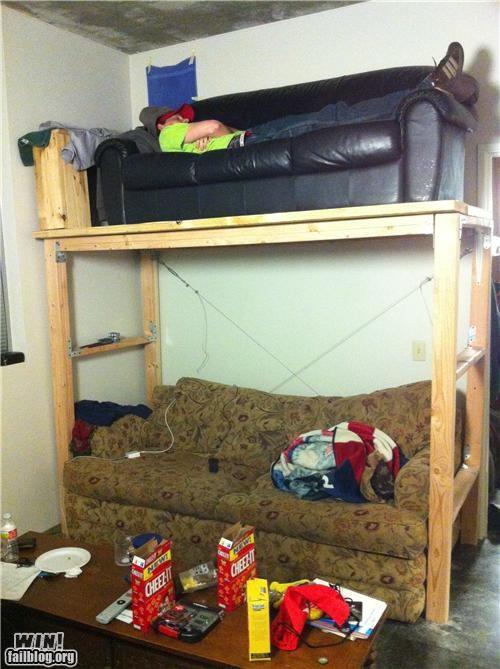 college couch dangerous dorm - 4501309184