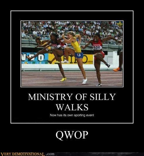running,QWOP,wtf