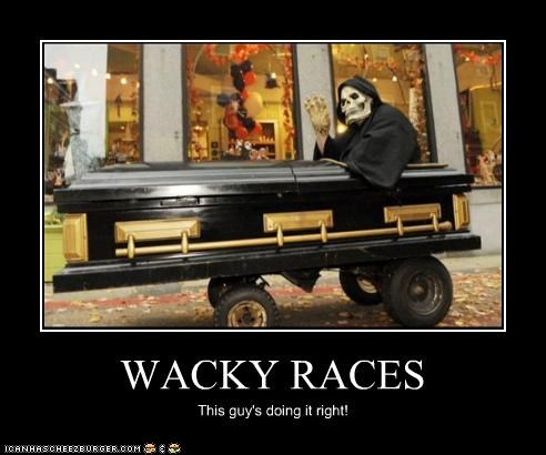 coffin costume Death wacky races - 4501703424