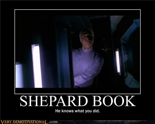 Firefly shepherd book TV uh oh