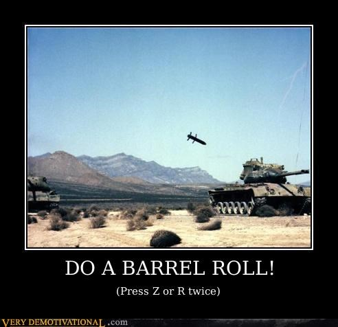missile,tank,barrel roll,Star Fox