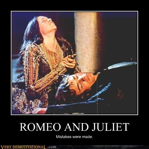 romeo,juliet,mistakes