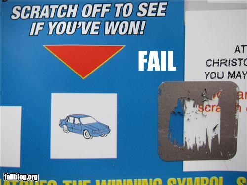 cars,failboat,gambling,g rated,placement,scratch offs,winner