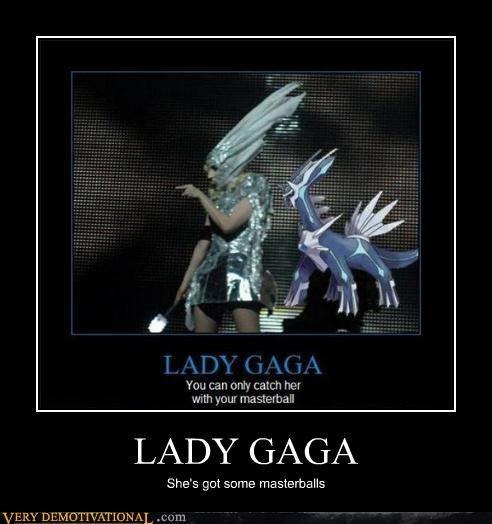 Pokémon,lady gaga,wtf