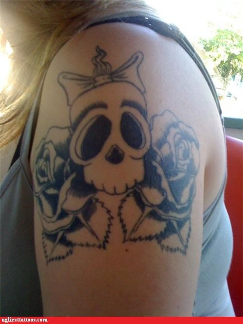 tattoo,what,skulls,funny