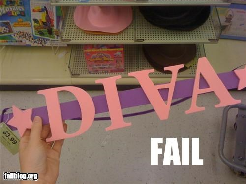 decoration,diva,failboat,g rated,letters,not a v,spelling