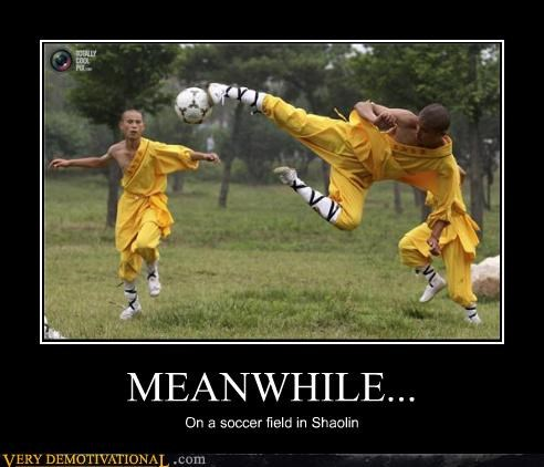 crazy,monks,shaolin,soccer