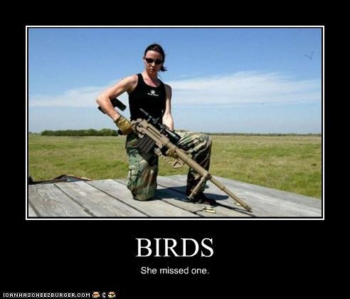 birds guns military sexy soldier women - 4504404224