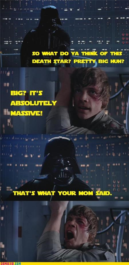 massive,star wars,your mom