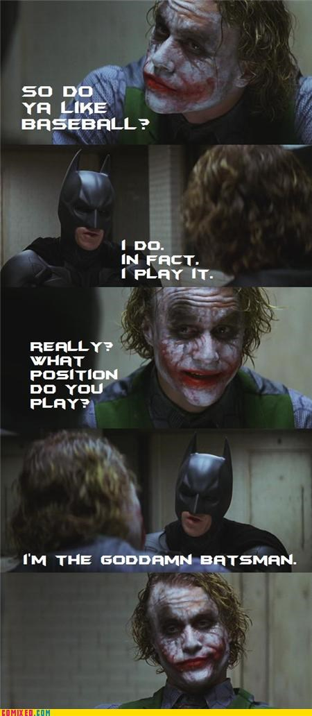 baseball,batman,joker,puns,questions