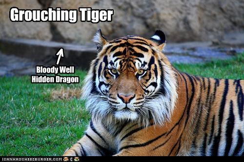 Grouching Tiger Bloody Well Hidden Dragon < | |