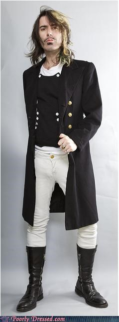 boots coat costume douche mustache pants - 4507010304