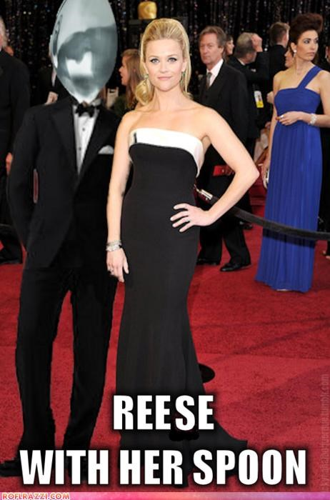actor,fake,funny,oscars,Reese Witherspoon,shoop