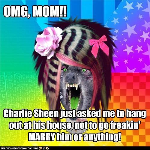 Charlie Sheen hes-a-gentleman scene wolf - 4508711936