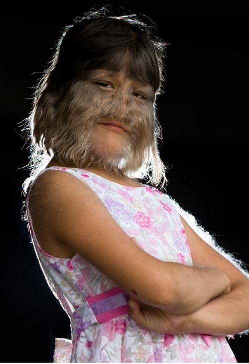 Preteen Wolfette world record You Go Hairy Girl - 4508819200