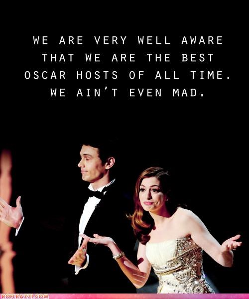 anne hathaway,James Franco,oscars,review