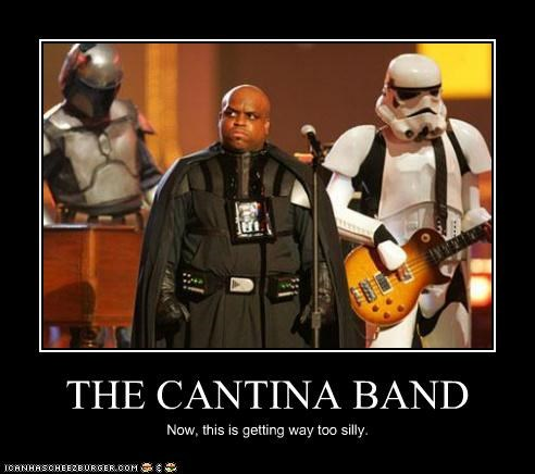 cee-lo green celeb demotivational funny Music sci fi star wars - 4508910080