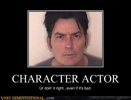 awesome character actor Charlie Sheen - 4509075712