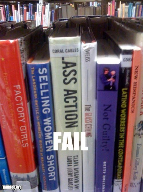 books,butts,class action,failboat,placement,sticker