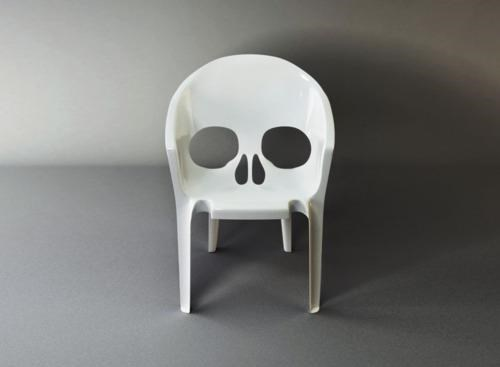 art,Skull-Themed Seating