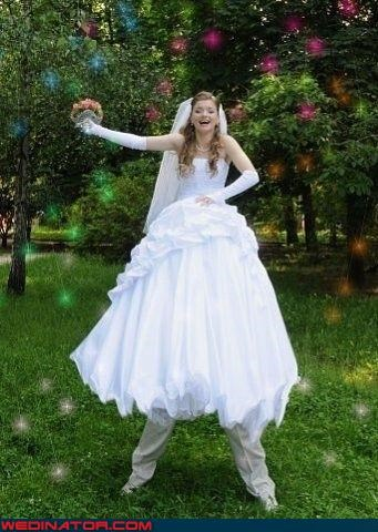 bad photoshop,fairies,funny wedding photos,pixies,Russian wedding