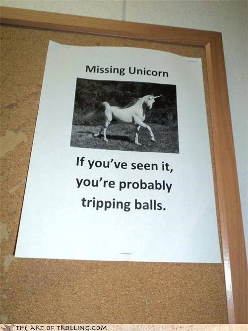 balls charlie i own a horse IRL tripping unicorn yesterdays-posts-people-go-check-em - 4509371904