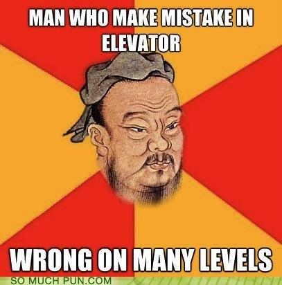 elevator levels literalism meme mistake moving wrong - 4509396992