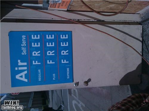 awesome at work free gas station money prices - 4510004736