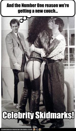 celeb cher David Letterman funny - 4510046464