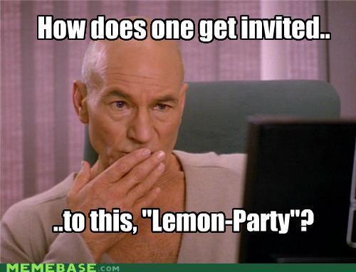 captain lemon party Memes picard TNG - 4510270208