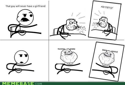 cereal guy forever alone mirror Rage Comics so lonely - 4510458880