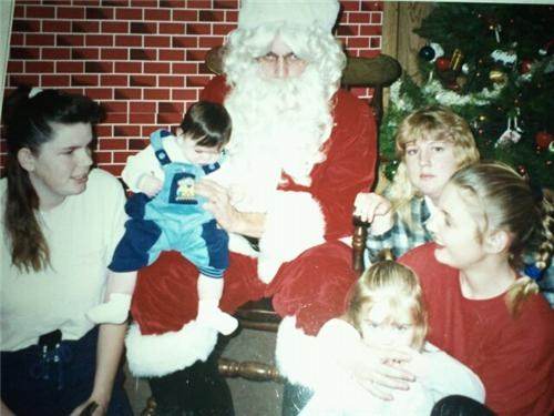 Sketchy santa of my girlfriends childhood