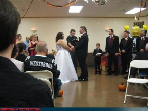 ceremony funny wedding photos groom halloween simpsons - 4511713280