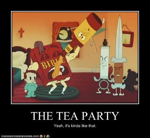 THE TEA PARTY Yeah, it's kinda like that.