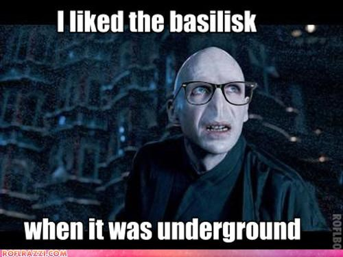 funny Harry Potter hipster meme sci fi voldemort - 4512335104