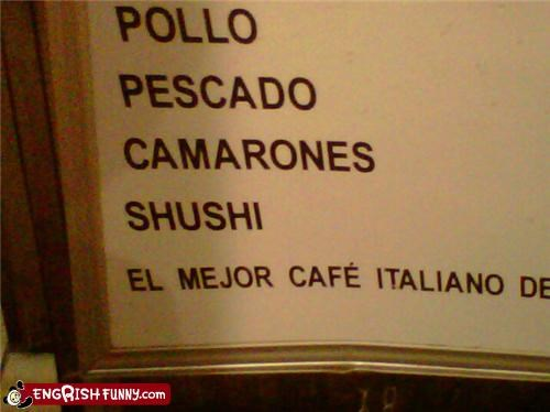 engrish,menu,sign,sushi,typo