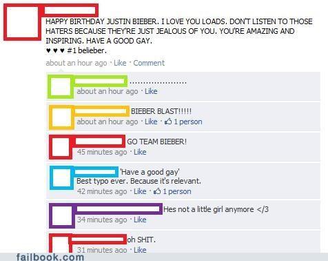 justin bieber lol oh snap spelling - 4512359424