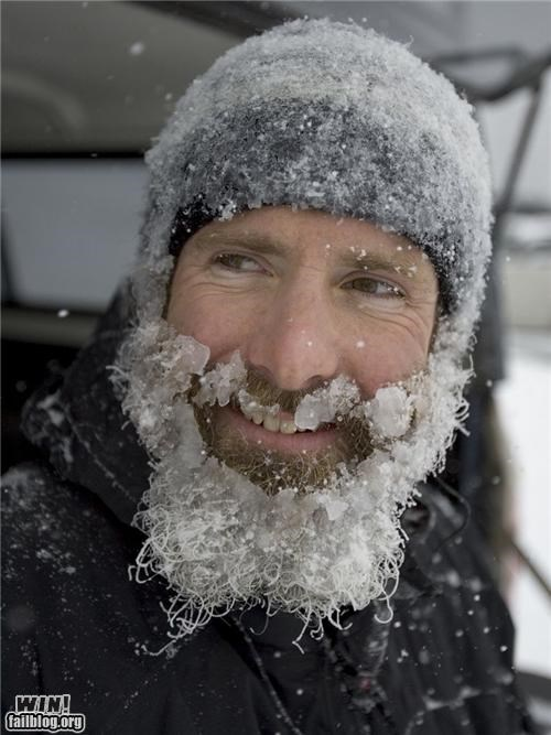 Badass,beards,ice,manly,snow,snowpocalypse