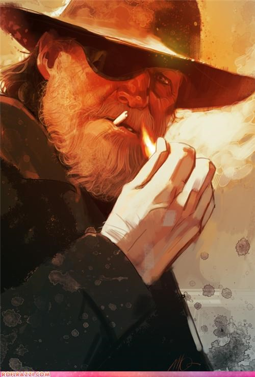 art,cool,jeff bridges,rooster cogburn,true grit