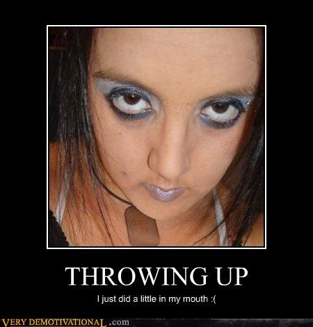 eww gross times makeup throwing up - 4513004544