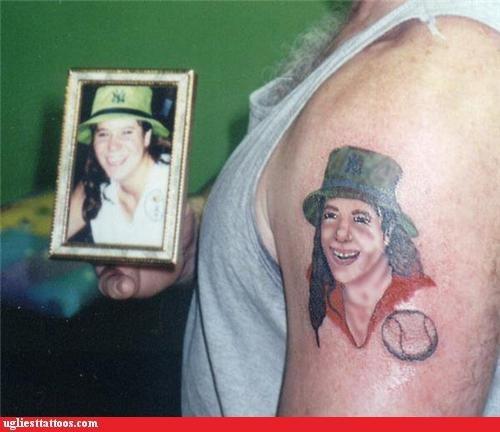 wtf portraits tattoos funny - 4513016320