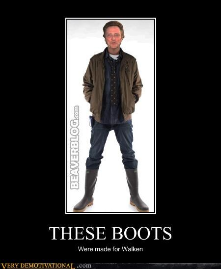 boots,christopher walken,pun