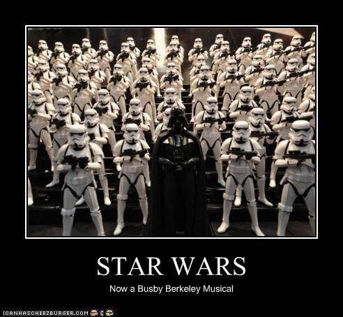 STAR WARS Now a Busby Berkeley Musical