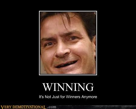Charlie Sheen drugs teeth winning - 4513553664