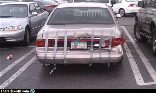 And stay closed cars duct tape trunk - 4514142208