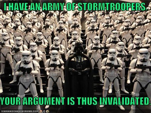 darth vader funny Movie sci fi star wars stormtrooper - 4514150656