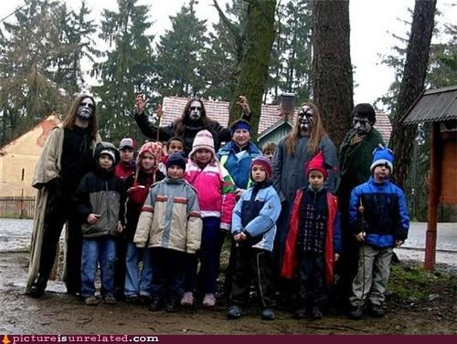 black metal,camp,corpse paint,kids,wtf