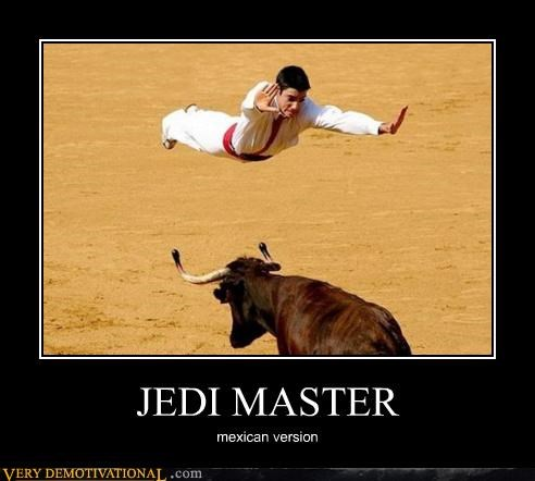 bullfighting Jedi wrong wtf - 4514914048