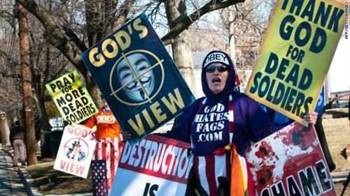 God Hates Haters Voltaire Westboro Baptist Church - 4515030272