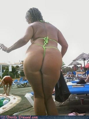 beach butt crack eye bleach g string gross thong - 4515177984